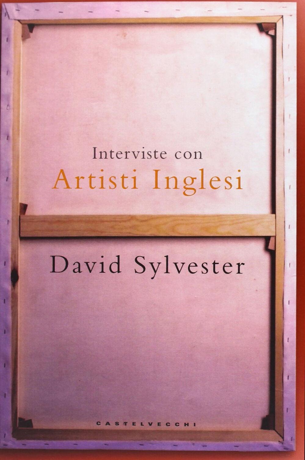Interviste con artisti inglesi