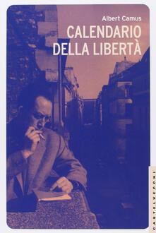 Calendario della libertà - Albert Camus - copertina