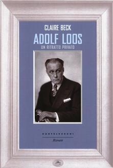 Ascotcamogli.it Adolf Loos. Un ritratto privato Image
