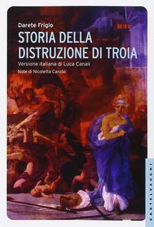 Lpgcsostenible.es Storia della distruzione di Troia. Testo latino a fronte Image