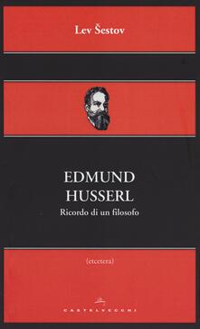 Fondazionesergioperlamusica.it Edmund Husserl. Ricordo di un filosofo Image