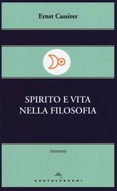 Spirito e vita nella filosofia