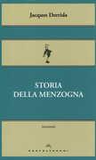 Libro Storia della menzogna Jacques Derrida