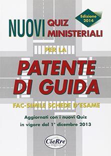 Fondazionesergioperlamusica.it Nuovi quiz ministeriali per la patente di guida Image
