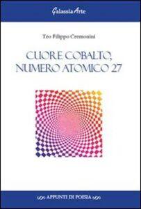 Cuore cobalto, numero atomico 27