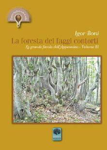 La foresta dei faggi contorti. La grande favola dell'Appennino. Vol. 3 - Igor Boni - copertina