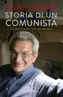 Storia di un comunista - Antonio Negri - copertina