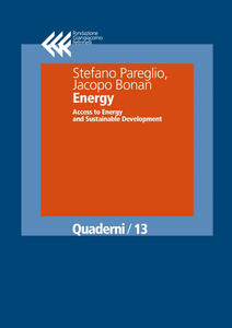 Energy. Access to energy and sustainable development