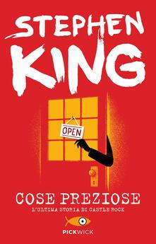 Cose preziose - Stephen King - copertina