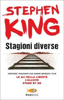 Stagioni diverse - Stephen King - copertina