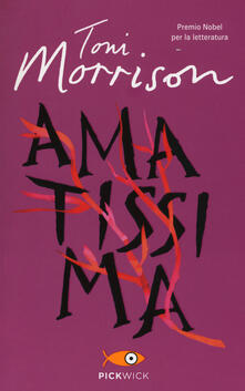 Amatissima - Toni Morrison - copertina