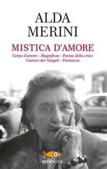 Mistica d'amore - Alda Merini - copertina