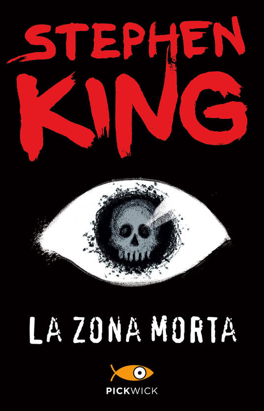 La zona morta - Stephen King - copertina