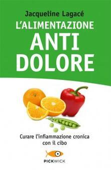 L' alimentazione antidolore - Jacqueline Lagacé - copertina