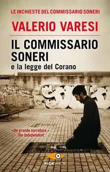 Il commissario Soneri e la legge del Corano - Valerio Varesi - copertina