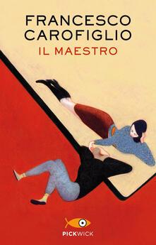 Il maestro - Francesco Carofiglio - copertina