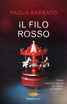 Il filo rosso - Paola Barbato - copertina