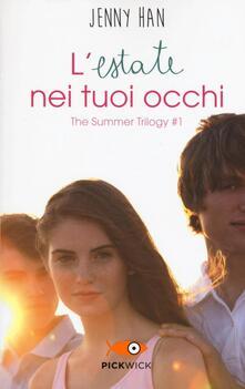 Osteriacasadimare.it L' estate nei tuoi occhi. The summer trilogy. Vol. 1 Image