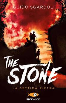 The stone. La settima pietra - Guido Sgardoli - copertina