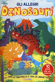 Amatigota.it Gli allegri dinosauri. Ediz. a colori Image