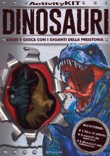 Ascotcamogli.it Dinosauri. Activity kit. Ediz. a colori. Con gadget Image