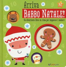 Grandtoureventi.it Arriva Babbo Natale! Un divertente libro in rima per imparare i numeri Image