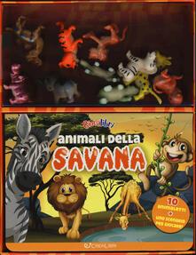 Ascotcamogli.it Animali della savana. Ediz. a colori. Con gadget Image