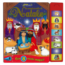 Parcoarenas.it La magica notte di Natale. Libro sonoro. Ediz. a colori Image