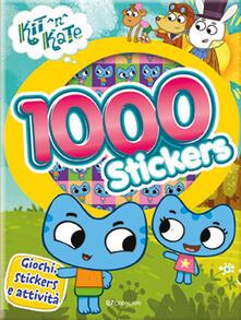 1000 stickers. Kit N Kate - copertina