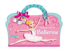 Disegna e vesti le ballerine. Con adesivi - Lili Chantilly - copertina