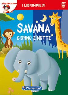 Antondemarirreguera.es La savana giorno e notte. Librinpiedi. Con App Image