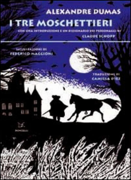 I tre moschettieri - Alexandre Dumas - copertina