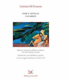 Fiabe e novelle calabresi - Letterio Di Francia - copertina