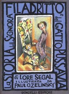La storia della signora Filadritto e del suo gatto Pussavia - Lore Segal - copertina