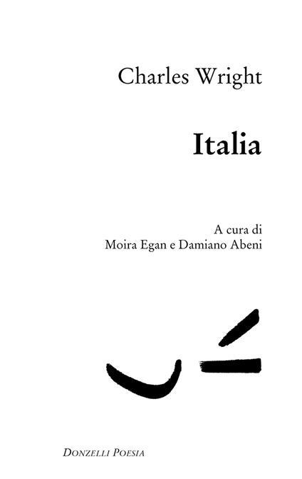 Italia - Charles Wright,Damiano Abeni,Moira Egan - ebook