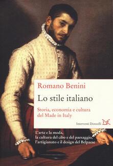 Camfeed.it Lo stile italiano. Storia, economia e cultura del Made in Italy Image
