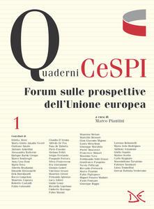 Forum sulle prospettive dell'Unione europea - Marco Piantini - ebook