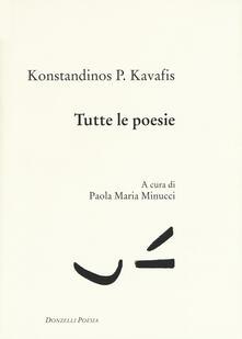 Secchiarapita.it Tutte le poesie. Testo greco a fronte Image