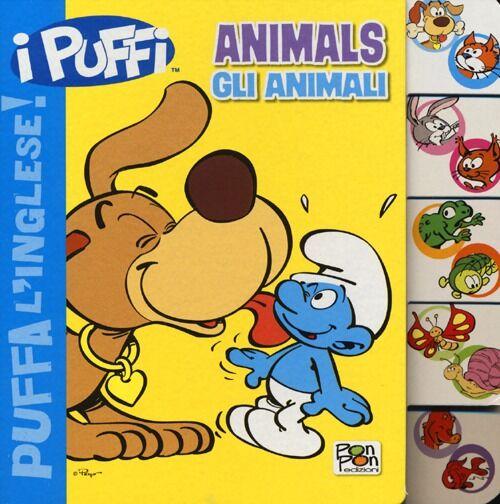 Animals-Gli animali. Puffa l'inglese. I Puffi