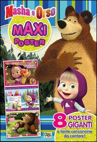Maxi poster Masha e Orso