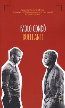Duellanti - Paolo Condò - copertina