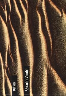 Quarto vuoto, l'eredità della sabbia - Baltasar - copertina