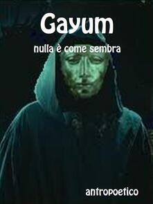 Gayum - Antropoetico - ebook