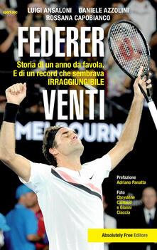Letterarioprimopiano.it Federer. Venti. Storia di un anno da favola. E di un record «irraggiungibile» Image