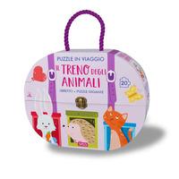 Il Il treno degli animali. Puzzle in viaggio. Ediz. a colori. Con puzzle - Tomè Ester - wuz.it