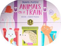 Animals on a train. Travel puzzle. Ediz. a colori. Con puzzle - Tomè Ester - wuz.it