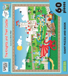 Rallydeicolliscaligeri.it The knights and their castle. Libro puzzle. Con libro Image