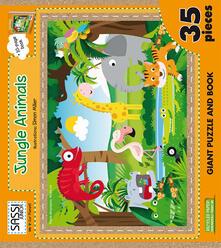 Capturtokyoedition.it Jungle animals. Puzzle gigante. Con libro Image