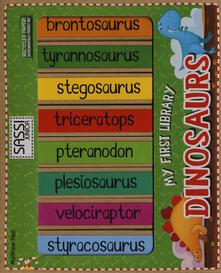 Voluntariadobaleares2014.es Dinosaurs. My first library. Ediz. illustrata Image