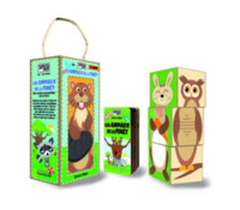 Les animaux de la forêt. 3 éco-cubes à assembler et un livre